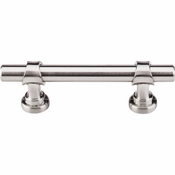 "Top Knobs - Asbury Collection - Bit Pull 3"" (c-c) - Brushed Satin Nickel - M1747"