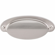 "Top Knobs - Asbury Collection - Dakota Cup Pull 2 9/16"" (c-c) - Brushed Satin Nickel - M1298"
