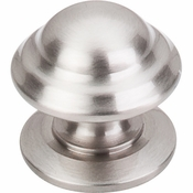 "Top Knobs - Asbury Collection - Empress Knob 1 3/8"" - Brushed Satin Nickel - M1323"