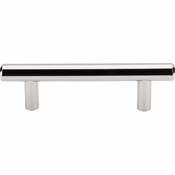 "Top Knobs - Asbury Collection - Hopewell Bar Pull 3"" (c-c) - Polished Nickel - M1269"