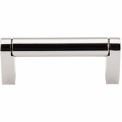 "Top Knobs - Asbury Collection - Pennington Bar Pull 3"" (c-c) - Polished Nickel - M1254"