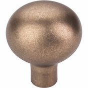 "Top Knobs - Aspen Collection - Aspen Egg Knob Large 1 7/16"" - Light Bronze - M1531"