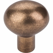 "Top Knobs - Aspen Collection - Aspen Egg Knob Small 1 3/16"" - Light Bronze - M1526"