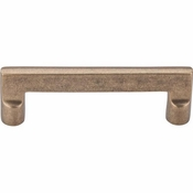 "Top Knobs - Aspen Collection - Aspen Flat Sided Pull 4"" (c-c) - Light Bronze - M1361"