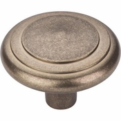"Top Knobs - Aspen Collection - Aspen Peak Knob 2"" - Light Bronze - M1496"
