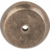 "Top Knobs - Aspen Collection - Aspen Round Backplate 1 1/4"" - Light Bronze - M1461"