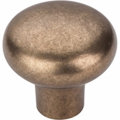 "Top Knobs - Aspen Collection - Aspen Round Knob 1 3/8"" - Light Bronze - M1556"