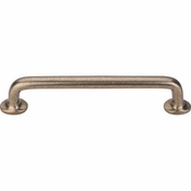 "Top Knobs - Aspen Collection - Aspen Rounded Pull 6"" (c-c) - Light Bronze - M1391"