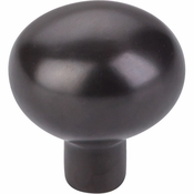 "Top Knobs - Aspen Collection - Aspen Egg Knob Large 1 7/16"" - Medium Bronze - M1532"