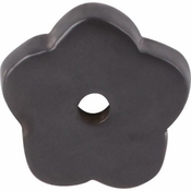 "Top Knobs - Aspen Collection - Aspen Flower Backplate 1"" - Medium Bronze - M1427"
