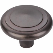 "Top Knobs - Aspen Collection - Aspen Peak Knob 2"" - Medium Bronze - M1497"