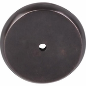 "Top Knobs - Aspen Collection - Aspen Round Backplate 1 3/4"" - Medium Bronze - M1467"