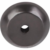 "Top Knobs - Aspen Collection - Aspen Round Backplate 7/8"" - Medium Bronze - M1457"