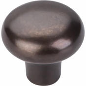 "Top Knobs - Aspen Collection - Aspen Round Knob 1 3/8"" - Medium Bronze - M1557"