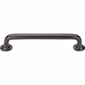 "Top Knobs - Aspen Collection - Aspen Rounded Pull 6"" (c-c) - Medium Bronze - M1392"