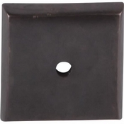 "Top Knobs - Aspen Collection - Aspen Square Backplate 1 1/4"" - Medium Bronze - M1452"