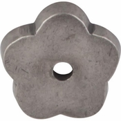 "Top Knobs - Aspen Collection - Aspen Flower Backplate 1"" - Silicon Bronze Light - M1425"