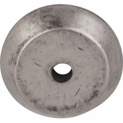 """Top Knobs - Aspen Collection - Aspen Round Backplate 7/8"""" - Silicon Bronze Light - M1455"""
