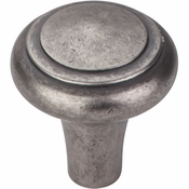 "Top Knobs - Aspen Collection - Aspen Peak Knob 1 1/4"" - Silicon Bronze Light - M1485"