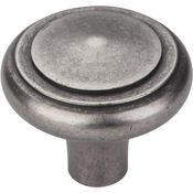 "Top Knobs - Aspen Collection - Aspen Peak Knob 1 5/8"" - Silicon Bronze Light - M1490"