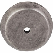 "Top Knobs - Aspen Collection - Aspen Round Backplate 1 1/4"" - Silicon Bronze Light - M1460"
