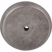 "Top Knobs - Aspen Collection - Aspen Round Backplate 1 3/4"" - Silicon Bronze Light - M1465"