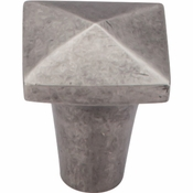 "Top Knobs - Aspen Collection - Aspen Square Knob 7/8"" - Silicon Bronze Light - M1510"