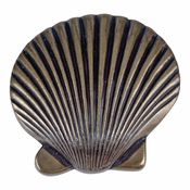 Atlas Homewares - 143-BB - Clamshell Knob - Burnished Bronze
