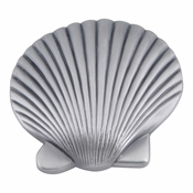 Atlas Homewares - 143-P - Clamshell Knob - Pewter