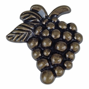Atlas Homewares - 2173-BB - Grapes Knob - Burnished Bronze