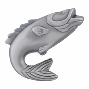 Atlas Homewares - 2204-NO - Fish Knob - Pewter