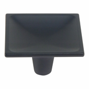 Atlas Homewares - 227-BL - Dap Square Knob - Matte Black