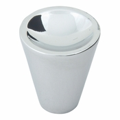 Atlas Homewares - 228-CH - Dap Cone Knob - Polished Chrome