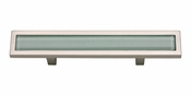 "Atlas Homewares - 231-GR-BRN - Spa Green Pull 3"" CC - Brushed Nickel"