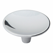 Atlas Homewares - 233-CH - Dap Lg Round Knob - Polished Chrome