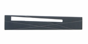 "Atlas Homewares - 253L-BL - Modernist Left Pull 3"" CC - Matte Black"