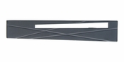 "Atlas Homewares - 253R-BL - Modernist Right Pull 3"" CC - Matte Black"