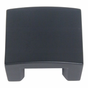 "Atlas Homewares - 254-BL - Centinel Solid Knob 1.25"" CC - Matte Black"