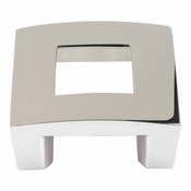 "Atlas Homewares - 255-PN - Centinel Square Knob 1.25"" CC - Polished Nickel"