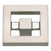 Atlas Homewares - 260-BRN - Nobu Knob - Brushed Nickel