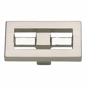 Atlas Homewares - 261-BRN - Nobu Rectangle Knob - Brushed Nickel