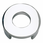 Atlas Homewares - 268-CH - Round Centinel Knob - Polished Chrome