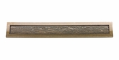Atlas Homewares - 269-BB - Primitive Pull 128 MM CC - Burnished Bronze