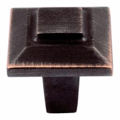 "Atlas Homewares - 283-VB - Trocadero Small Knob 1"" - Venetian Bronze"