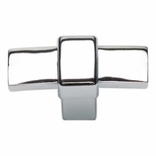 Atlas Homewares - 301-CH - Buckle-Up Knob - Polished Chrome