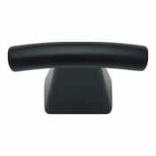 Atlas Homewares - 305-BL - Fulcrum Knob - Matte Black