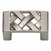 Atlas Homewares - 309-BRN - Lattice Knob - Brushed Nickel