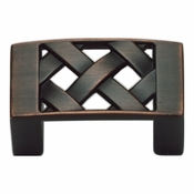 Atlas Homewares - 309-VB - Lattice Knob - Venetian Bronze