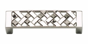 "Atlas Homewares - 310-PN - Lattice Pull 3"" CC - Polished Nickel"