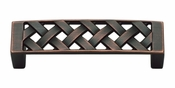 "Atlas Homewares - 310-VB - Lattice Pull 3"" CC - Venetian Bronze"